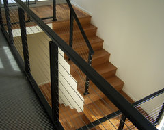 Crane Residence modern-staircase