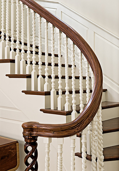 traditional staircase Going Up: Beautiful & Unusual Staircases