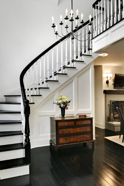 Crisp Architects traditional staircase