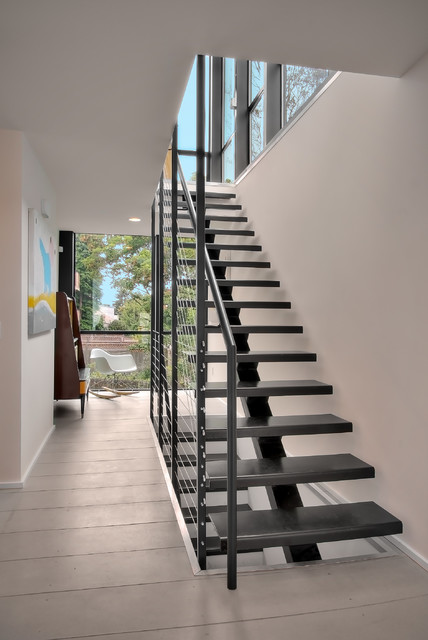 Modern Staircase by Chris Pardo Design - Elemental Architecture