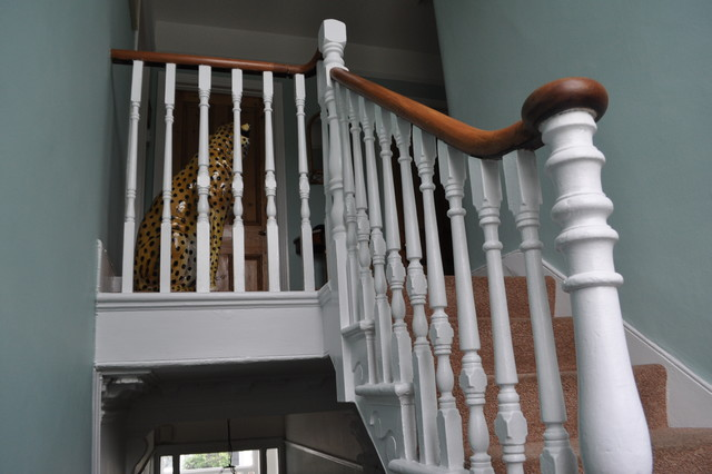 crouch end house traditional-staircase
