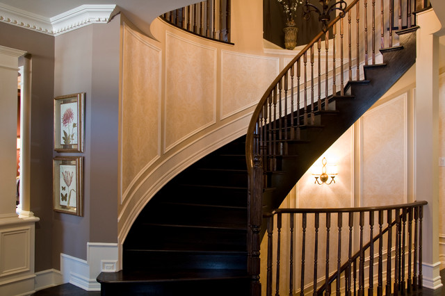 Crown/Cabinets/Mantel/Applique/Columns traditional-staircase