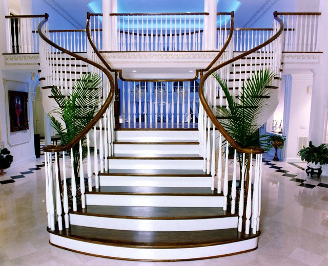 Curved Staircases Straight Staircases Spiral Staircases Staircases Custom  Traditional Staircase
