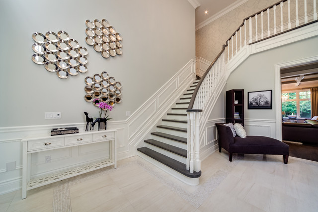 Custom Build Home contemporary staircase