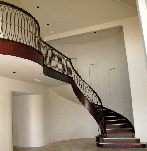 Custom Designed Staircase Contemporary Staircase San