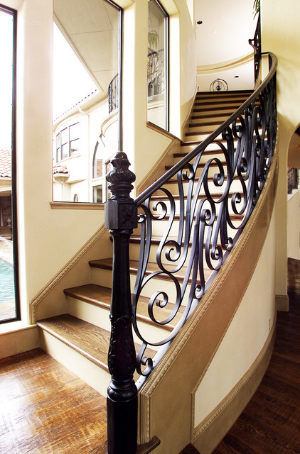 Custom Designed Stairs traditional-staircase