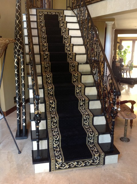 Staircase   Traditional Staircase Idea In New York. Email Save. Custom  Stair Runners