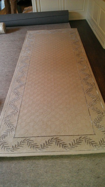 Custom Hand Tufted Rugs and Runners traditional staircase