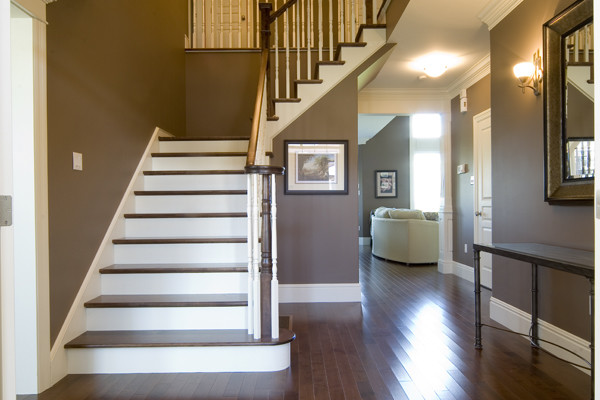 Custom Home 9 traditional-staircase