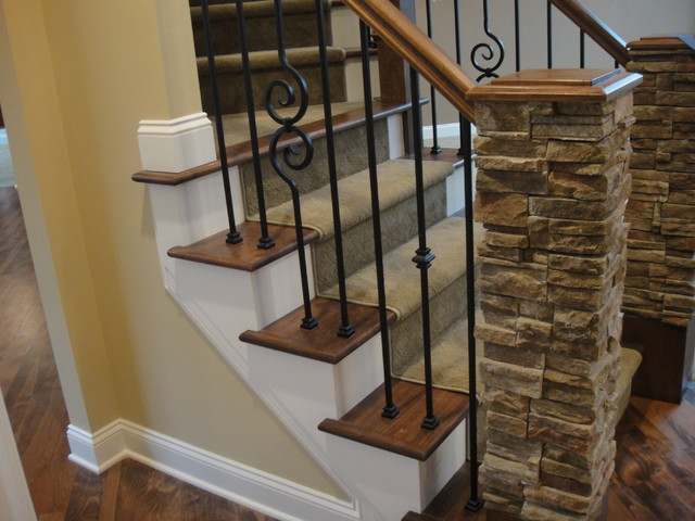 Custom Home November 2011  staircase