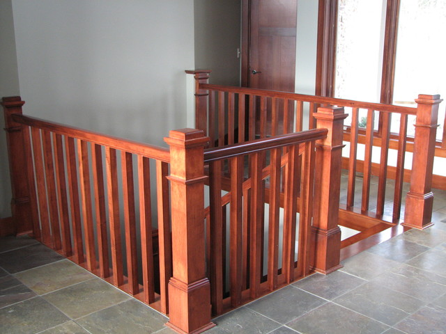 Custom Home traditional-staircase