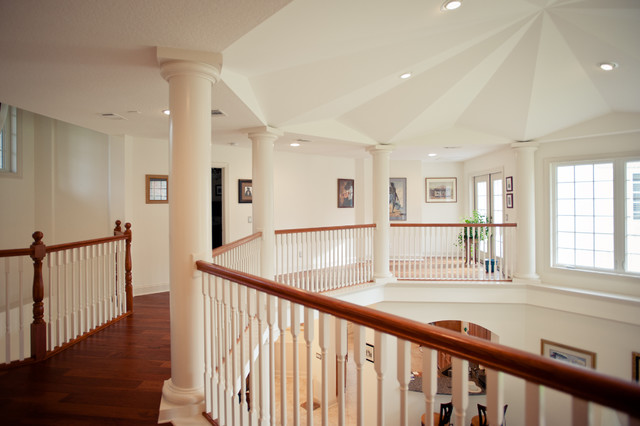 Custom Homes by Parr Builders staircase