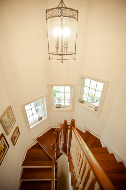 Custom Homes by Parr Builders traditional-staircase