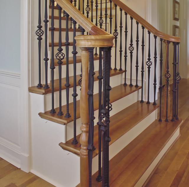 Custom Iron Stair Balusters