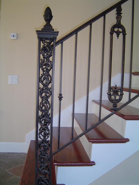 Custom Iron Stair Railing