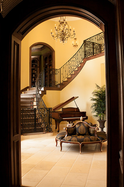 Custom Iron Staircases & Railings traditional-staircase