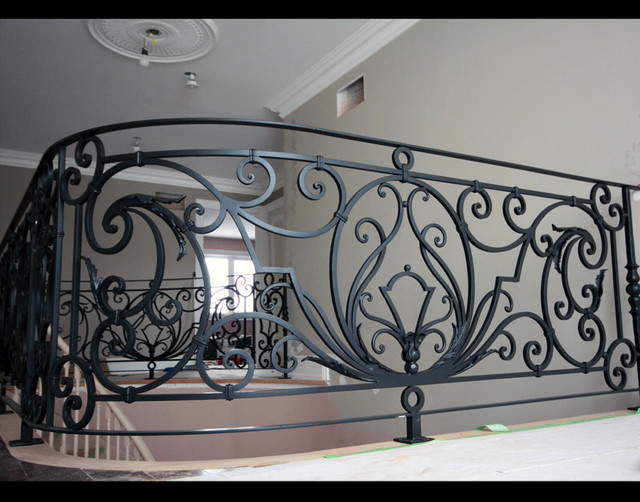 Custom Iron Work Staircase Toronto By Bo Creative