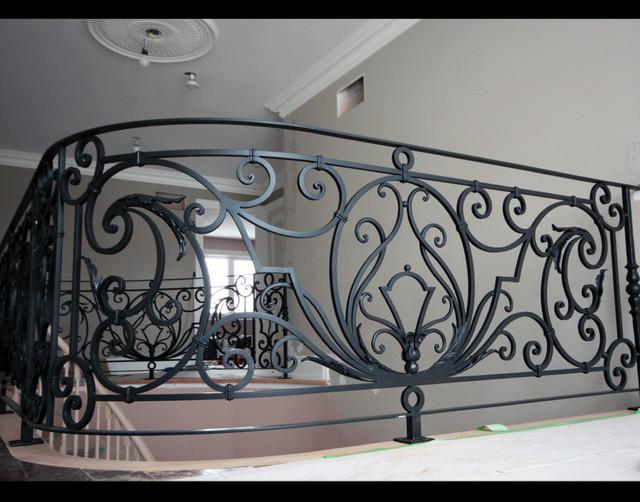Custom Iron Work Staircase Toronto By BO CREATIVE STEEL INC