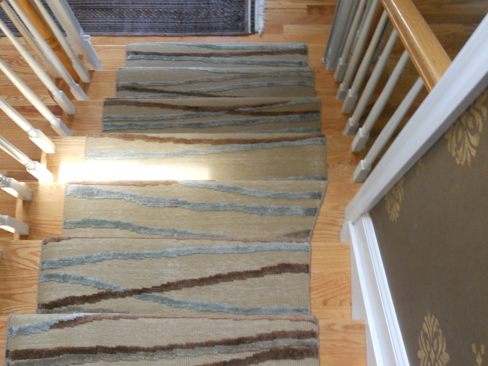 Custom Modern Stair Runners Traditional Staircase New