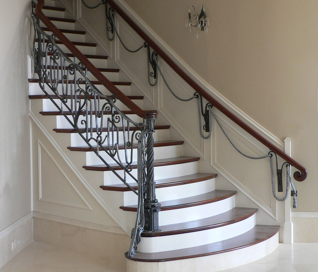 Custom Railing Staircase Louisville By Maynard Studios
