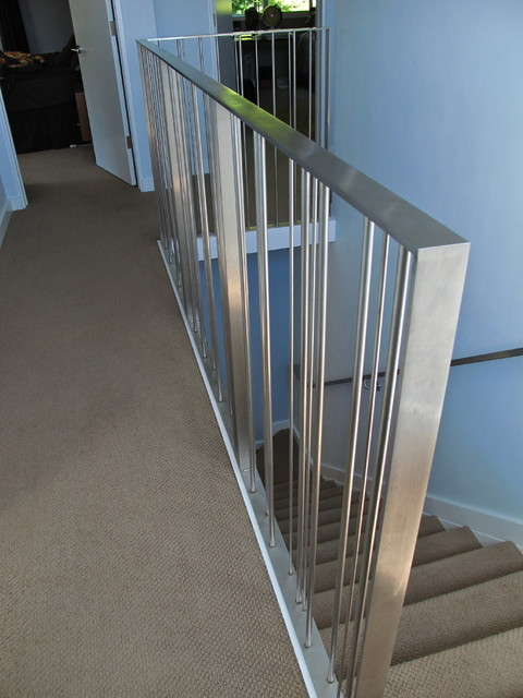 Custom Stair Railing - Modern - Staircase - san francisco - by Cardea ...