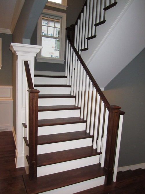 Switchback Stair Railing