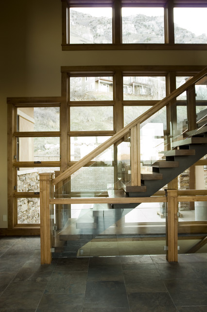 Custom Staircase Contemporary Staircase Salt Lake