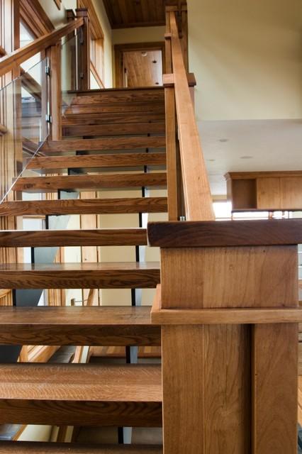 Custom staircase contemporary-staircase