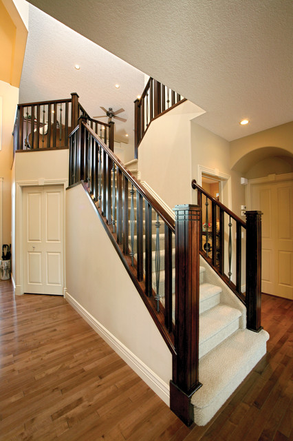 Elegant Staircase Photo In Calgary. Email Save. SPINDLE STAIRS U0026 RAILINGS
