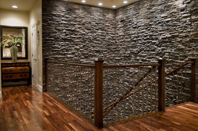 Custom stone wall for Interior rock walls designs