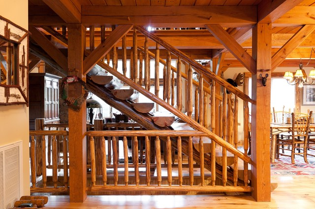 Custom Woodhouse Timber Frame In Bethel Ny Rustic