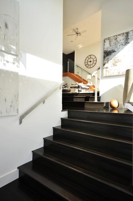 Dawna Jones Design modern-staircase