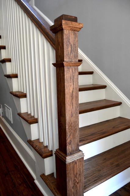 Decatur Craftsmen Home craftsman-staircase