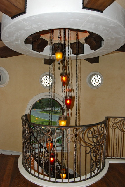 Decorative Touches by Stadler Custom Homes mediterranean-staircase