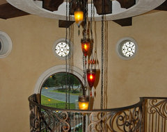Decorative Touches by Stadler Custom Homes mediterranean staircase