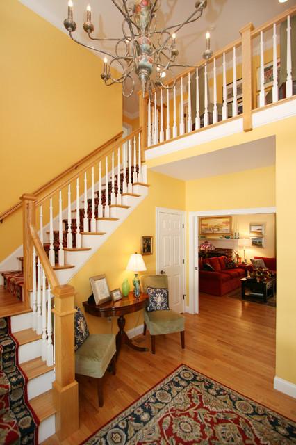 Dennis Beach House beach-style-staircase