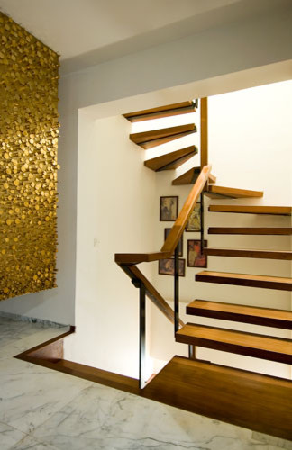 Inspiration for a staircase remodel in San Francisco