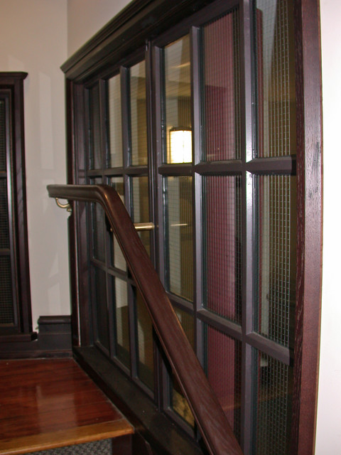 Dial Lodge Project: CRITTALL USA traditional-staircase