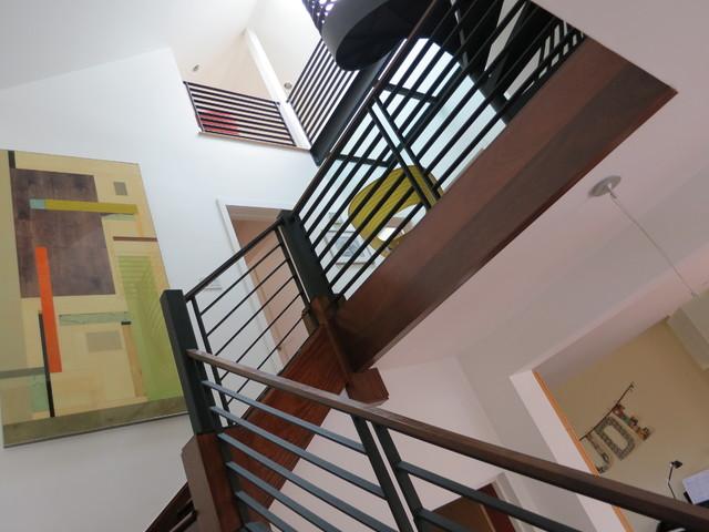 Diamond Street contemporary-staircase