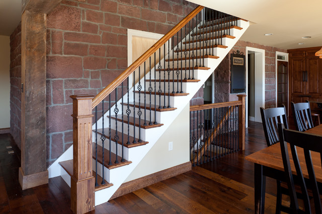 Diehl Road traditional-staircase