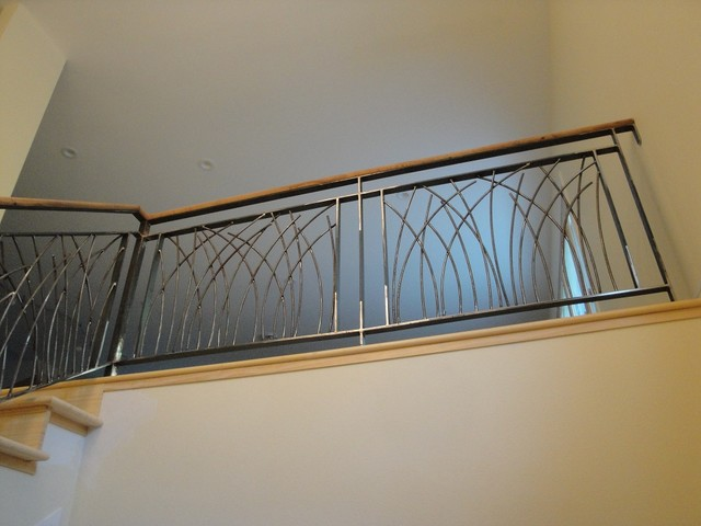 Din Residence contemporary-staircase