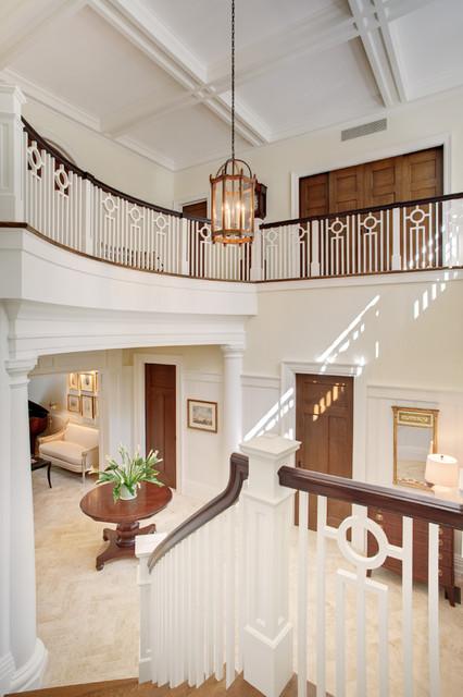 Distinctly English traditional-staircase