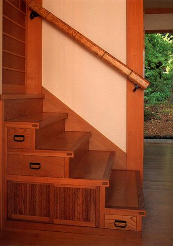 DKO ARCHITECTS and ASSOCIATES > projects > residential > fleishman asian-staircase