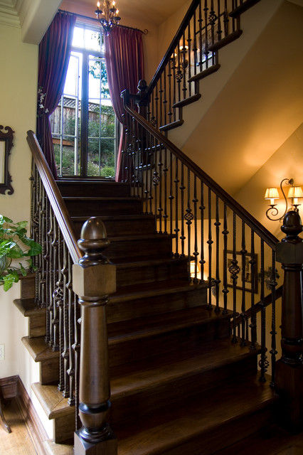 Dolinar Residence traditional-staircase