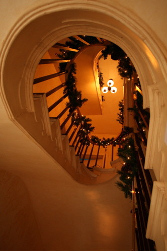 Doni Flanigan Interior Design Artist traditional-staircase