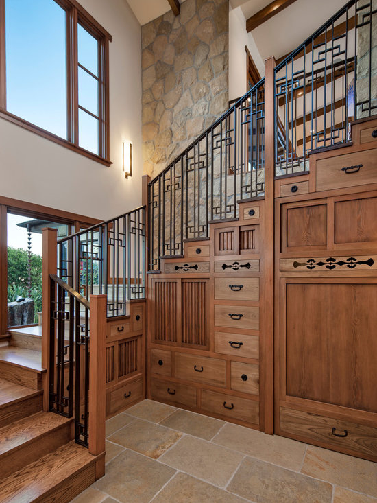 Tansu Stairs Home Design Ideas, Pictures, Remodel and Decor