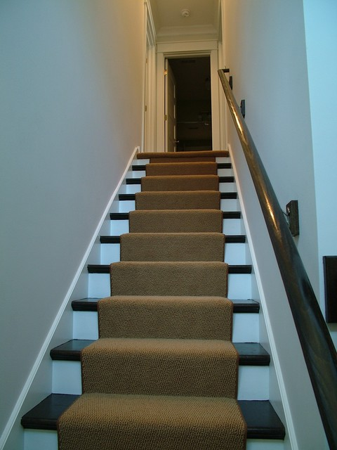 Downtown Naperville renovation traditional-staircase