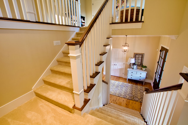 Downtown Zionsville traditional-staircase