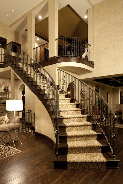 Dream Home Great Rm traditional-staircase