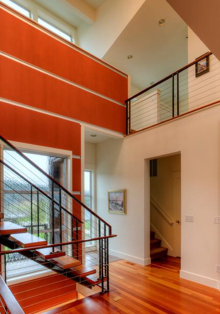2.0 Driftwood Shores Waterfront, Camano Island, Wa. contemporary-staircase